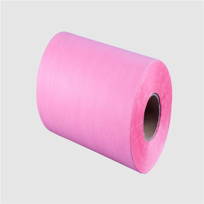 resistance to blood medical use cleaning wipe raw material spunlace non woven fabric rolls