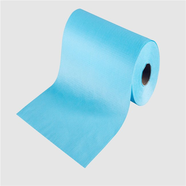 spunlace non woven fabric rolls for waterproof medical wipes